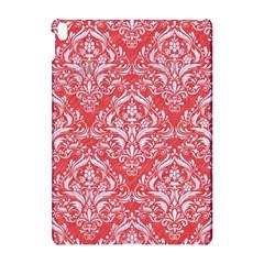 Damask1 White Marble & Red Colored Pencil Apple Ipad Pro 10 5   Hardshell Case