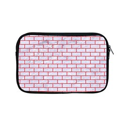 Brick1 White Marble & Red Colored Pencil (r) Apple Macbook Pro 13  Zipper Case by trendistuff