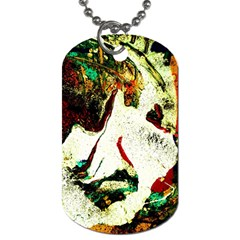 Skull 2 Dog Tag (one Side) by bestdesignintheworld