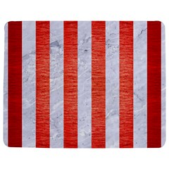 Stripes1 White Marble & Red Brushed Metal Jigsaw Puzzle Photo Stand (rectangular) by trendistuff
