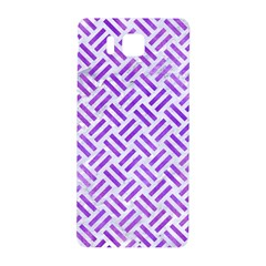 Woven2 White Marble & Purple Watercolor (r) Samsung Galaxy Alpha Hardshell Back Case by trendistuff