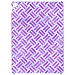 Woven2 White Marble & Purple Watercolor (r) Apple Ipad Pro 12 9   Hardshell Case by trendistuff