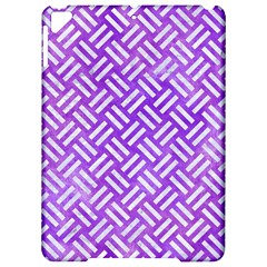 Woven2 White Marble & Purple Watercolor Apple Ipad Pro 9 7   Hardshell Case