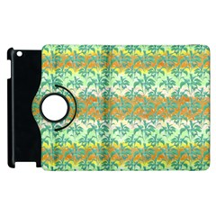 Colorful Tropical Print Pattern Apple Ipad 3/4 Flip 360 Case