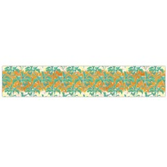 Colorful Tropical Print Pattern Large Flano Scarf  by dflcprints