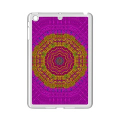 Summer Sun Shine In A Sunshine Mandala Ipad Mini 2 Enamel Coated Cases by pepitasart