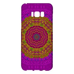 Summer Sun Shine In A Sunshine Mandala Samsung Galaxy S8 Plus Hardshell Case  by pepitasart