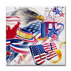 United States Of America Usa  Images Independence Day Face Towel by Sapixe