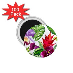 Vector Pattern Tropical 1 75  Magnets (100 Pack)  by Sapixe