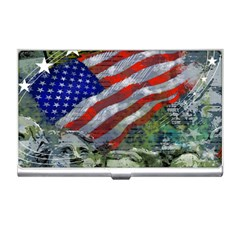 Usa United States Of America Images Independence Day Business Card Holders by Sapixe