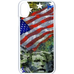 Usa United States Of America Images Independence Day Apple Iphone X Seamless Case (white)