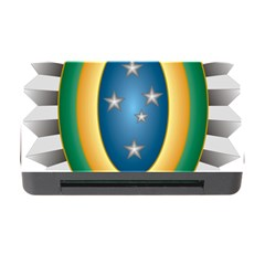 Seal Of The Brazilian Army Memory Card Reader With Cf by abbeyz71