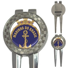 Seal Of Brazilian Navy  3 In 1 Golf Divots by abbeyz71