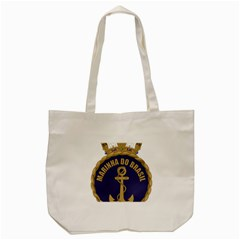 Seal Of Brazilian Navy  Tote Bag (cream) by abbeyz71