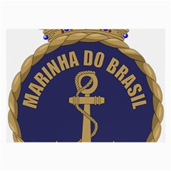 Seal Of Brazilian Navy  Large Glasses Cloth by abbeyz71