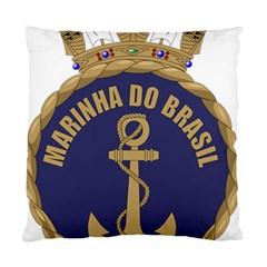Seal Of Brazilian Navy  Standard Cushion Case (two Sides) by abbeyz71