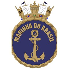 Seal Of Brazilian Navy  5 5  X 8 5  Notebooks by abbeyz71