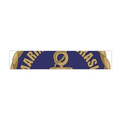Seal Of Brazilian Navy  Flano Scarf (mini) by abbeyz71