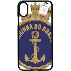 Seal Of Brazilian Navy  Apple Iphone X Seamless Case (black) by abbeyz71