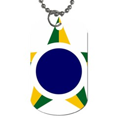 Roundel Of Brazilian Air Force Dog Tag (one Side) by abbeyz71