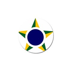 Roundel Of Brazilian Air Force Golf Ball Marker (10 Pack) by abbeyz71