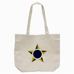 Roundel Of Brazilian Air Force Tote Bag (cream) by abbeyz71
