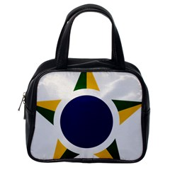Roundel Of Brazilian Air Force Classic Handbags (one Side) by abbeyz71
