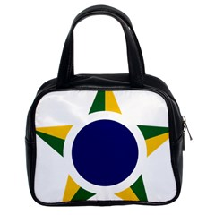 Roundel Of Brazilian Air Force Classic Handbags (2 Sides) by abbeyz71