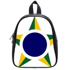 Roundel Of Brazilian Air Force School Bag (small) by abbeyz71
