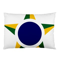 Roundel Of Brazilian Air Force Pillow Case (two Sides) by abbeyz71