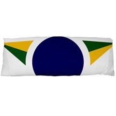 Roundel Of Brazilian Air Force Body Pillow Case Dakimakura (two Sides) by abbeyz71