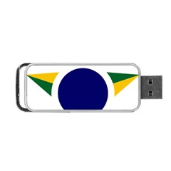 Roundel Of Brazilian Air Force Portable Usb Flash (two Sides) by abbeyz71