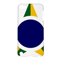 Roundel Of Brazilian Air Force Apple Ipod Touch 5 Hardshell Case by abbeyz71