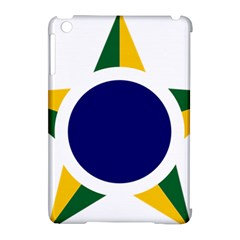 Roundel Of Brazilian Air Force Apple Ipad Mini Hardshell Case (compatible With Smart Cover) by abbeyz71
