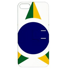 Roundel Of Brazilian Air Force Apple Iphone 5 Hardshell Case With Stand by abbeyz71