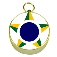 Roundel Of Brazilian Air Force Gold Compasses by abbeyz71