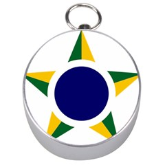 Roundel Of Brazilian Air Force Silver Compasses by abbeyz71