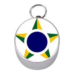 Roundel Of Brazilian Air Force Mini Silver Compasses by abbeyz71