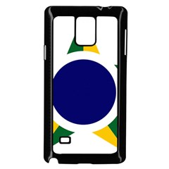 Roundel Of Brazilian Air Force Samsung Galaxy Note 4 Case (black) by abbeyz71