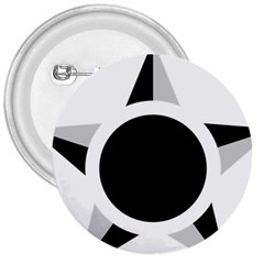 Roundel Of Brazilian Air Force (low Visibility) 3  Buttons by abbeyz71