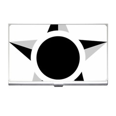 Roundel Of Brazilian Air Force (low Visibility) Business Card Holders by abbeyz71