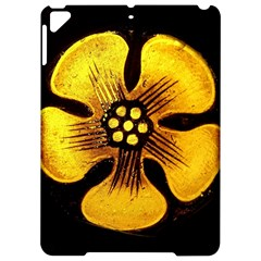 Yellow Flower Stained Glass Colorful Glass Apple Ipad Pro 9 7   Hardshell Case by Sapixe
