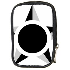 Roundel Of Brazilian Air Force (low Visibility) Compact Camera Cases by abbeyz71