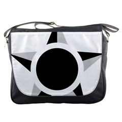 Roundel Of Brazilian Air Force (low Visibility) Messenger Bags by abbeyz71