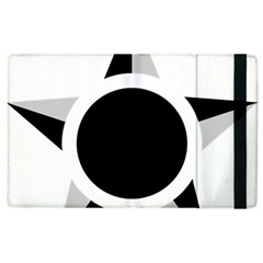 Roundel Of Brazilian Air Force (low Visibility) Apple Ipad 3/4 Flip Case by abbeyz71