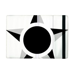 Roundel Of Brazilian Air Force (low Visibility) Apple Ipad Mini Flip Case by abbeyz71