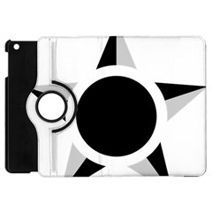 Roundel Of Brazilian Air Force (low Visibility) Apple Ipad Mini Flip 360 Case by abbeyz71