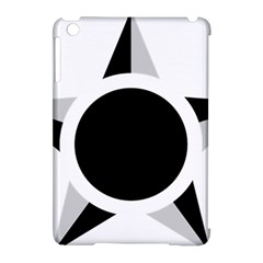 Roundel Of Brazilian Air Force (low Visibility) Apple Ipad Mini Hardshell Case (compatible With Smart Cover) by abbeyz71