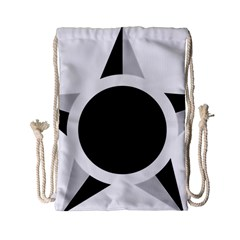 Roundel Of Brazilian Air Force (low Visibility) Drawstring Bag (small) by abbeyz71