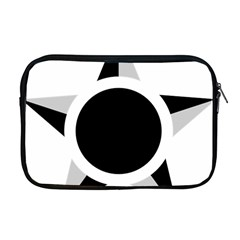 Roundel Of Brazilian Air Force (low Visibility) Apple Macbook Pro 17  Zipper Case by abbeyz71